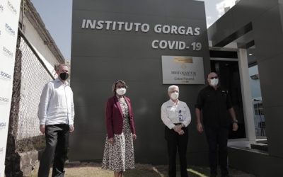 "ICGES  INAUGURA  NUEVO LABORATORIO MODULAR ""INSTITUTO GORGAS COVID–19"""