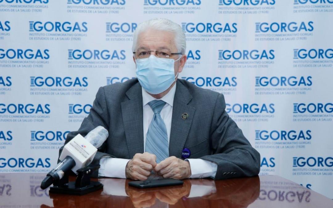 Instituto Conmemorativo Gorgas de Estudios de la Salud (ICGES), adquiere nuevas pruebas rápidas para detección del COVID-19.