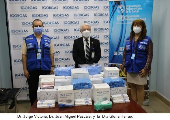 OPS en Panamá entrega nueva donación para contribuir al fortalecimiento del Instituto Conmemorativo Gorgas de Estudios de la Salud