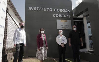 """ICGES  INAUGURA  NUEVO LABORATORIO MODULAR """"INSTITUTO GORGAS COVID–19"""""""
